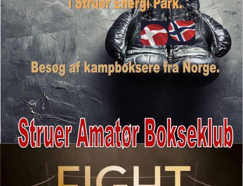 Struer Amatør Bokseklub Fight Night 14. april 2018