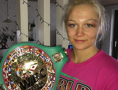 Struer Amatør Bokseklub ønsker Dina Thorslund tillykke med VM-bæltet
