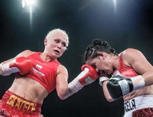 Dina er nyslået WBO verdensmester