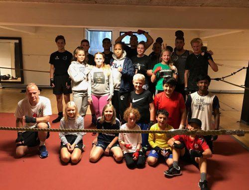 Stor opbakning til trænings weekend 17. -19. august